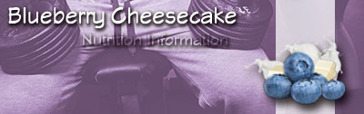 Barbarian - Blueberry Cheesecake _ Nutrition Information